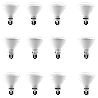 (12-Pack) 65-Watt Equivalent Soft White BR30 Dimmable Energy Star LED Light Bulb