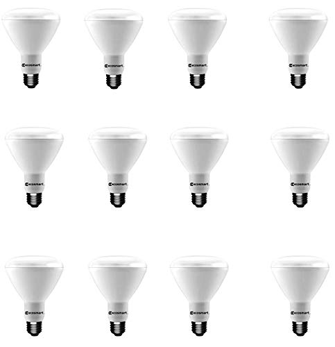 (12-Pack) 65-Watt Equivalent Soft White BR30 Dimmable Energy Star LED Light (Best Ecosmart Light Bulbs)