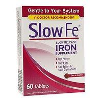 Slow Fe Slow Release Iron, Tablets, 60 ea - 2pc