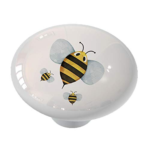 Bumble Bee and Babies Drawer/Cabinet Knob by Gotham Decor
