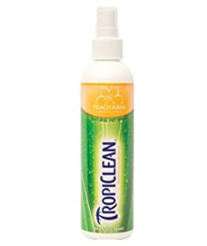 Tropiclean Peach Kava Colonia spray para perros y gatos ...