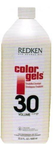 Redken Color Gels Emulsified Developer 30 Vol - 33.8oz