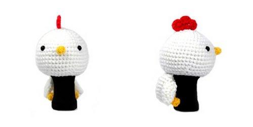 全ての Amimono Chicken Driver Golf Golf Cover, Head Cover, White, Driver 460cc B00ATRFIOM, e-宝石屋:b4d66945 --- a0267596.xsph.ru