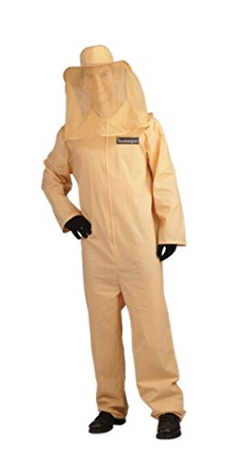 Adult Bee Keeper Costume fits up to a chest size (Adult Bee Keeper Costume)
