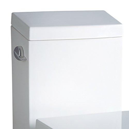 Ariel TB336M Ariel Platinum Aphrodite Contemporary One Piece White Toilet