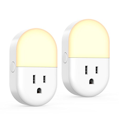 [Smart Plug & Led Light] iClever 2 Pack IC-BS11 Wifi Smart Switch, Remote Control Christmas Lights, 2.4GHz Timer Outlet, Compatitible with Alexa, Google Assistant and IFTTT [ Wirecutters Pick ]