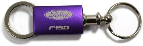 Ford F-150 F150 Purple Valet Key Fob Authentic Logo Key Chain Key Ring Keytag Lanyard