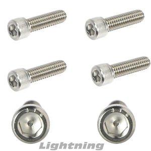 Marine Grade 316 Stainless Steel Socket Head Cap Screws 1/4-20 X 1/2