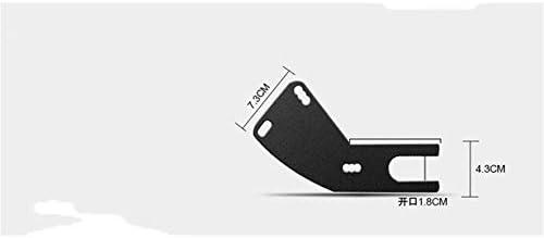 8Eninine Parafango Posteriore in Metallo per parafango Posteriore Moto Universale per Moto