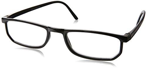 Dr. Dean Edell Basic Plastic Black Rectangle and DDE Case, +1.75, 0.200 Ounce Dean Edell Eyewear