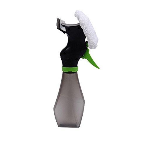 Xerhnan Window Cleaning Combo - spray squeegee & microfiber window washer with spray kettle