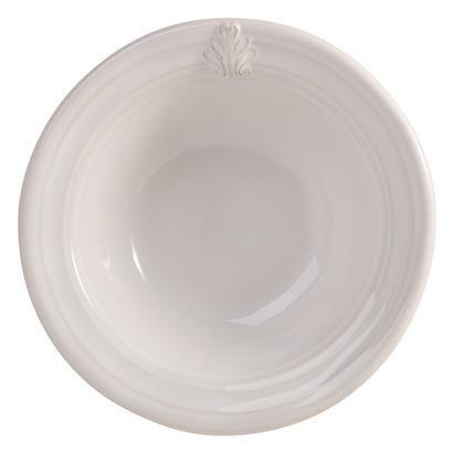 Juliska Acanthus Cereal Or Ice Cream Bowl - Whitewash