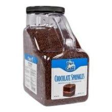 Durkee Decacake Chocolate Sprinkles, 7-Pound