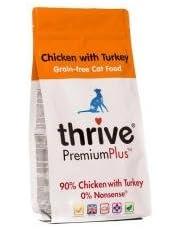thrive Katze PremiumPlus Dry Food- Huhn mit Truthahn 1.5kg