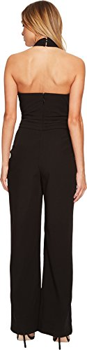 Adelyn Rae Women's Cindy Jumpsuit Black Small by Adelyn Rae (Image #2)