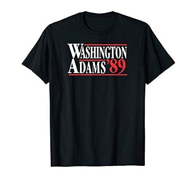 Washington Adams 89 Non-distressed Campaign Patriotic Shirt