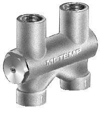 Mifab MI-TEMP Automatic Pressure Balance Valve, Plastic,  1'' x 1'' x 1''