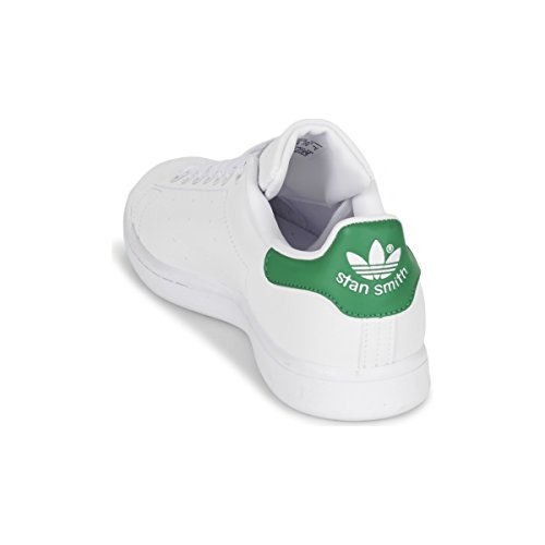 Adidas Heren Stan Smith Lage Top Veters Sneakers Wit / Wit-groen