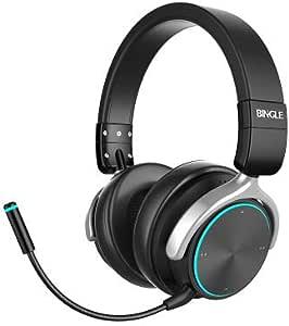 XHN Auriculares inalámbricos para Xbox One, PS4, Deportes recreativos con música, Auriculares Bluetooth, RGB con 30 Horas de Tiempo de reproducción: Amazon.es: Electrónica