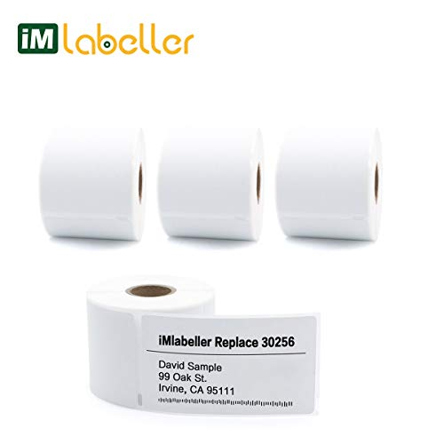 - iMlabeller 30256 DYMO Labels Compatible 2-5/16