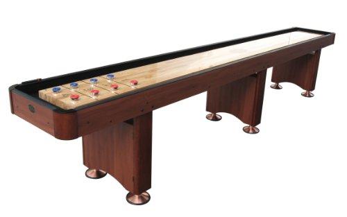 Playcraft Woodbridge Shuffleboard Table, Cherry, 12-Feet