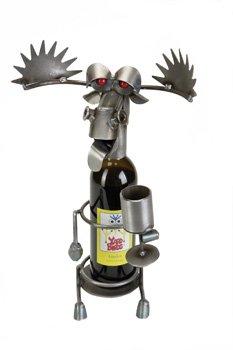 Yardbirds Drinking Moose Wine Caddy ()