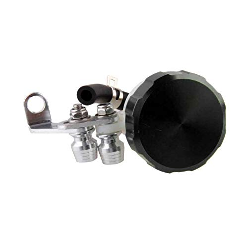 - Hard Anodized Finish Motorcycle Parts CNC Oil Cylinders Reservoir Front Brake Clutch Tank Fluid Cup
