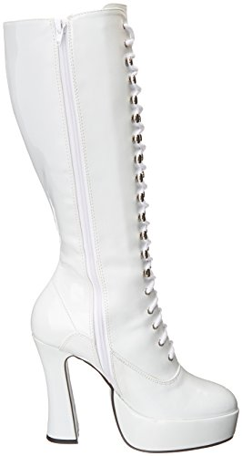 Shoes Women's White Combat Boot Ellie Easy dSwqdv