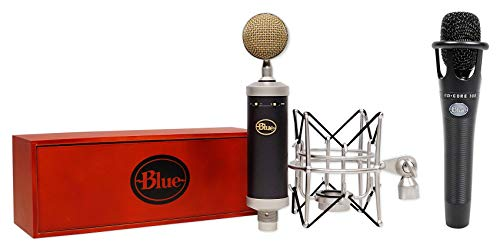 Blue Baby Bottle SL Condenser Recording Microphone+Shockmount+Free Encore 300