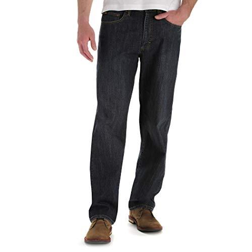 (Lee Men's Big & Tall Custom Fit Loose Straight Leg Jean, Vandal, 52W x 28L)