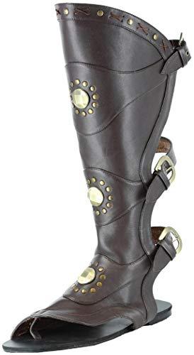 Ellie Shoes Inc Men's Gladiator Sandal Black Size 10/11 from Ellie Shoes