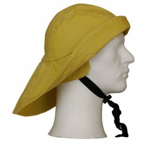 Yellow Waterproof Sow wester Fisherman Hat  Amazon.co.uk  Toys   Games dfff4de2560