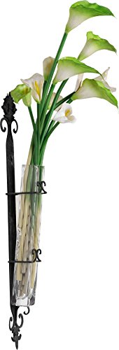 A&B Home 86134 Wendell Wall-Mounted Bud Vase, 4 by 4.5 by 29-Inch ()