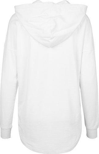 Urban Classics Ladies Oversized Terry Hoody, Sudadera para Mujer Weiß (White 220)