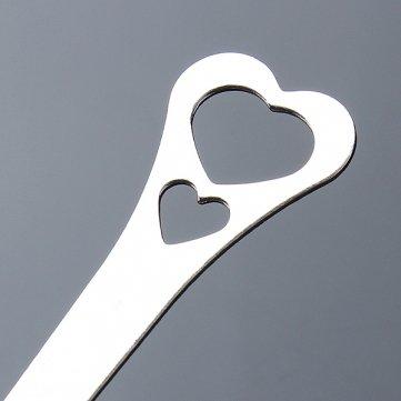 Acciaio inox a forma di cuore del t/è del setaccio di Infuser Filtro Spoon