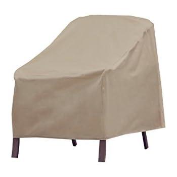 amazon com modern leisure patio furniture chair cover weather rh amazon com Patio Furniture Covers Sale Best Patio Chair Covers