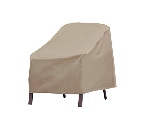 Modern Leisure 3134D Chair Cover, Weather & Waterproof Patio Chair Cover (Chairs Yard Target)