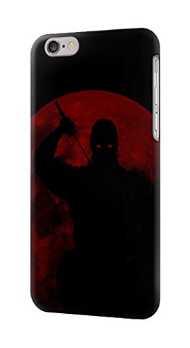 Amazon.com: R2558 Ninja Shadow Red Moon Case Cover For ...