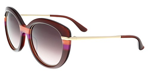 Salvatore Ferragamo Women's SF724S Wine - Salvatore Ferragamo Sunglasses