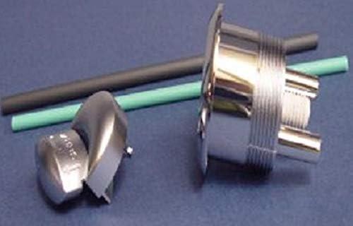 LXJLXJ Inodoro Cisterna de Doble pulsador al RAS de la v/álvula V/álvula Bot/ón Aseo Cuarto de ba/ño WC Cuclillas Tanque de Drenaje Accesorios