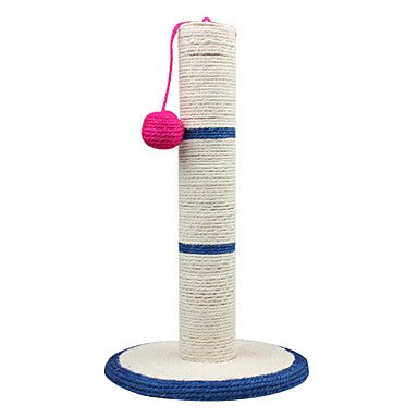 Quick shopping Sisal Little Ball Style Cat Scratch Column Scratcher with Holding Pad