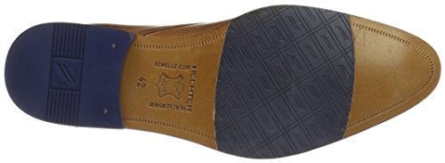 Daniel Hechter 812229041111, Zapatos Derby Hombre Marrón (Cognac/Blue 6340)