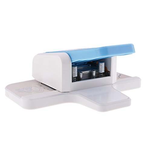 Baoblaze Craft Punch Paper Border Corner Edge Punch Shaper Cutter Card Scrapbook Tools Embossing Paper Cutter - C