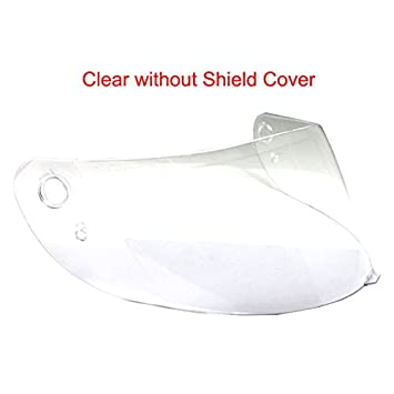 Replacement Face Shield Visor for ILM 902//316 Motorcycle Helmet BLACK