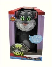 Talking Tom - Repeats Back What You Say by Cuddle Barn (Stuffed Tom Talking Animal)
