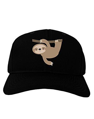 Tooloud Cute Hanging Sloth Adult Dark Baseball Cap Hat -