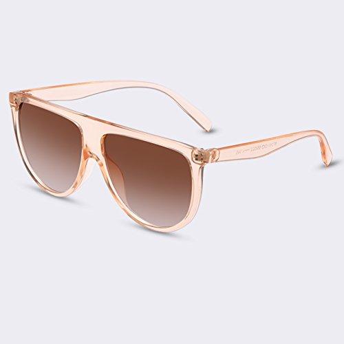 gafas Señor sol UV400 de TIANLIANG04 C03 Mujer para Moda gradiente lujo de el Gafas de gafas femenino C05 de RqYZCwEZ