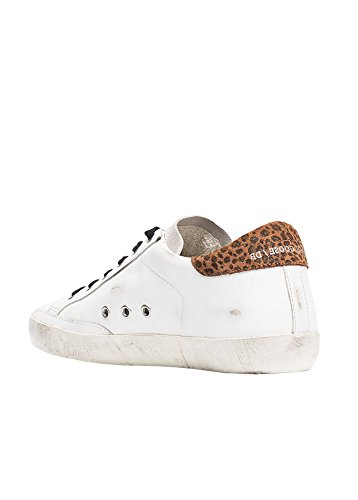 Golden Goose Ladies Mcglcak03107e Sneakers In Pelle Bianca