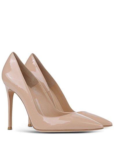 Travail Bureau Talon Haut Couleurs Escarpins Des Classiques De Pointus Chaussures Edefs 100mm À Femmes Lady Nude xqIXHRa