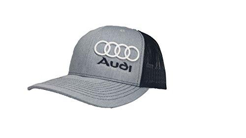 Richardson 3D Puff Audi Hat Cap Snapback Adjustable Adult Unisex (Cap Audi)